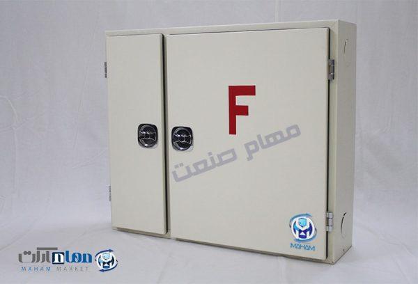 جعبه آتش نشانی آهنی دو قلو